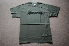 AIRBOURNE LOGO TOO MUCH TOO YOUNG T SHIRT MEDIUM NEW OFFICIAL RUNNIN' WILD