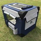 PUPPY POWER PORTABLE PET HOME, COLLAPSIBLE DOG KENNEL, SOFT CRATE - LARGE 91CM