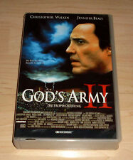 VHS - God's Army II 2 - Christopher Walken - Jennifer Beals - Videokassette