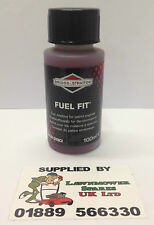 WEBB PETROL LAWNMOWER LONG LIFE FUEL ADDITIVE  BRIGGS & STRATTON 100ML 992380