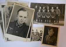 German NCO army rad prisoner of war photographs shady lane camp  leicester