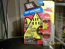Tech Deck Fingerboard Toy Machine Srs 2 Collin Provost Skateboard Stand Sticker+