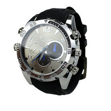 Waterproof 16GB Full HD 1080P IR NIGHT VISION Spy Camera DVR IN WRIST WATCH W5