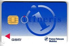TELECARTE GSM SIM COLLECTOR .. FRANCE ITINERIS SOLAIC FTM +N° UT/BE CHIP/PUCE