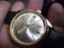 SUPER RETRO Gents Citizen 21 JEWELS orologio automatico