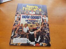 KAREEM ABDUL JABBAR, Pat Riley  SIGNED SPORTS ILLUSTRATED MAGAZINE 1988