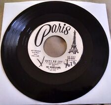 Joe Bennett & the Sparkletones - Boys Do Cry/What the Heck 45 (Paris) Promo VG+