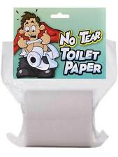 Fake No Tear Toilet Paper Rip Resistant Looks & Feels Real Jokes Gags Pranks