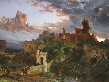 JASPER FRANCIS CROPSEY AMERICAN SPIRIT WAR OLD ART PAINTING POSTER BB5810A