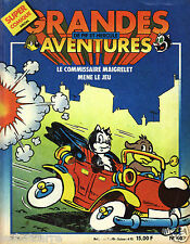Pif Super Comique Spécial N°40 - Grandes Aventures - Eds. Vaillant - 1985