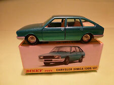 DINKY TOYS 1542 CHRYSLER SIMCA 1308 GT - NEAR MINT CONDITION IN BOX