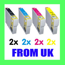8 Ink Cartridge for Epson Stylus SX105 SX200 SX205 SX400 SX405 SX410 SX415