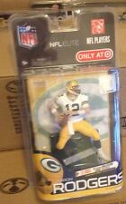 MCFARLANE NFL ELITE AARON RODGERS COLLECTORS LEVEL CHASE VARIANT FIGURE PACKERS
