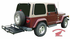 HITCH-N-RIDE HITCH RECEIVER CARGO CARRIER VEHICLES WITH REAR MOUNTED SPARE TIRE