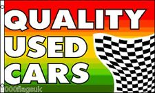 Quality Used Cars Shop Sign Advertising POS 5'x3' Flag *** TO CLEAR ***