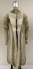 Coyote Fur Coat Size M