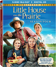 Little House On The Prairie Season 4 Collection (2015, Blu-ray NEW)5 DISC SET