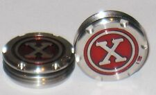 2 Custom Circle X 15-Gram Weights for Titleist Scotty Cameron Putters  Red