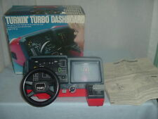 Vintage Tomy Turnin Turbo Dashboard w/Original Box,Instructions,Tested & Works.