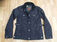 LADIES LE BREVE FASHION JACKET STYLE RAVEN BLACK SIZE S = SIZE 10
