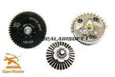 Super Shooter 100:300 High Precision Helical Torque Up Gear Set for Airsoft AEG