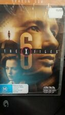 The X Files: Season 6 DVD Region 4 NEW AND SEALED