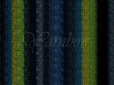 NORO ::Silk Garden #252:: silk mohair wool yarn Black-Grey-Teal-Green-Navy