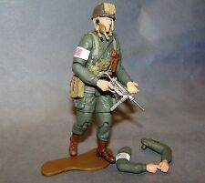 1:18 Ultimate Soldier WWII U.S Army Airborne 101st D-Day Figure M3A1 Machine Gun
