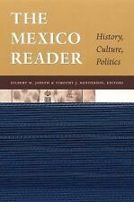The Mexico Reader: History, Culture, Politics (The Latin America Readers)  Books