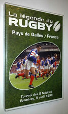 DVD NEUF RUGBY PAYS DE GALLES - FRANCE 5 AVRIL 1998