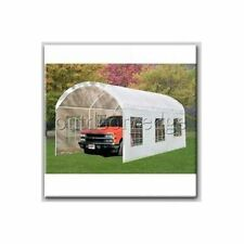 Peaktop 20x10 Arch Heavy Duty Portable Carport Garage Shelter Canopy Party Tent