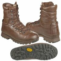 ALTBERG BROWN BOOTS - GRADE 1  - VARIOUS SIZES - CADET - GENUINE BRITISH ARMY