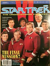 Star Trek The Undiscovered Country Official Movie Magazine 1992