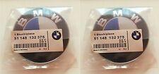 82+74mm BMW Blau weiss Emblem Logo Vorne Motorhaube 1er 3er 5er 7er Z3 Z4 X3
