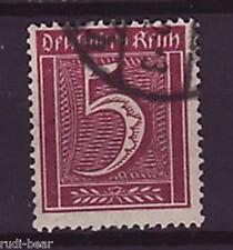 Deutsches Reich Nr.   158  gest.  Ziffer im Rechteck   -15