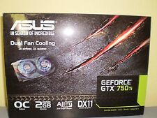 Asus NVIDIA GeForce GTX750TI-OC-2GD5 2GB GDDR5 PCI-Express 3.0 HDCP Video Card