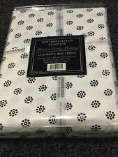 300 THREAD COUNT 100% EGYPTIAN COTTON(KING) WHITE FLOWER DUVETSET