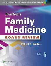 NEW - Bratton's Family Medicine Board Review by Baldor MD, Robert A.