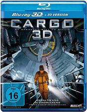 CARGO [2009] (Blu-ray 3D + 2D)~~~GERMAN SCI FI~~~Ivan Engler~~~NEW & SEALED
