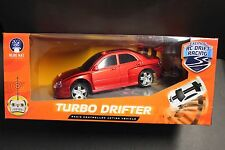 RED TURBO DRIFTER R/C RADIO CONTROLLED ACTION VEHICLE BY BLUE HAT NEW 49 MHz