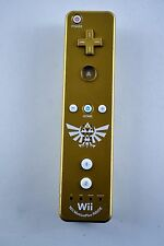 Zelda Limited Edition Gold Wii Remote Controller Skyward Sword MotionPlus
