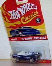 2005 Hot Wheels Classics Series 2  1967 Camaro Hood Opens COLOR: Blue