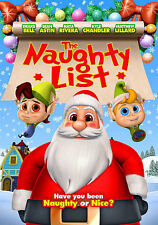 The Naughty List (DVD, 2013) NEW Christmas, Family, Children, Anime