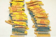 1220pcs 122values 1/4W 1% Metal Film Resistors Assorted kit Assortment 0.33~4.7