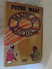 MADE IN AMERICA Peter Maas Rizzoli 1980 Prima edizione La Scala V Manzini