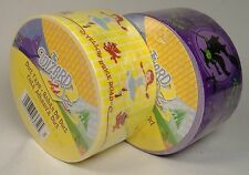 WIZARD OF OZ DESIGNER DUCT TAPE LOT DOROTHY YELLOW BRICK ROAD & WICKED WITCH HTF