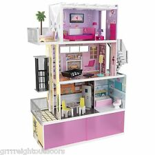 Kidkraft Beachfront Mansion dollhouse  Doll House Furniture Elevator Wooden