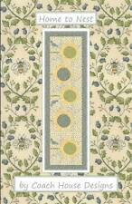 Pattern ~ HOME TO NEST ~ by Coach House Designs - Table Runner