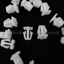 20 Body Side Moulding Clip White Nylon Retainer A17443 For Honda 91534-SE0-000