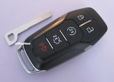 FORD FUSION TITANIUM SMART KEY keyless entry remote fob transmitter +NEW INSERT